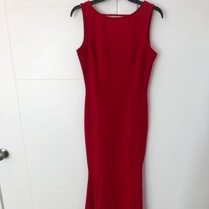 Gorgeous red carpet event dress